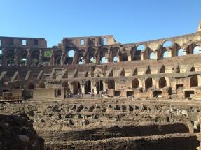 Inside the Coliseum