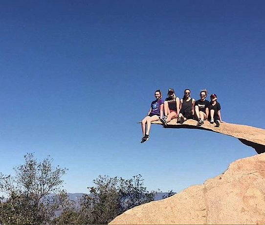 Hiking in San Diego: Potato Chip Rock
