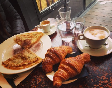 Parisian breakfast