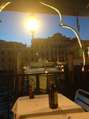 Dinner on the Canal