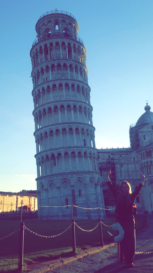 Pisa, and the last of Italia